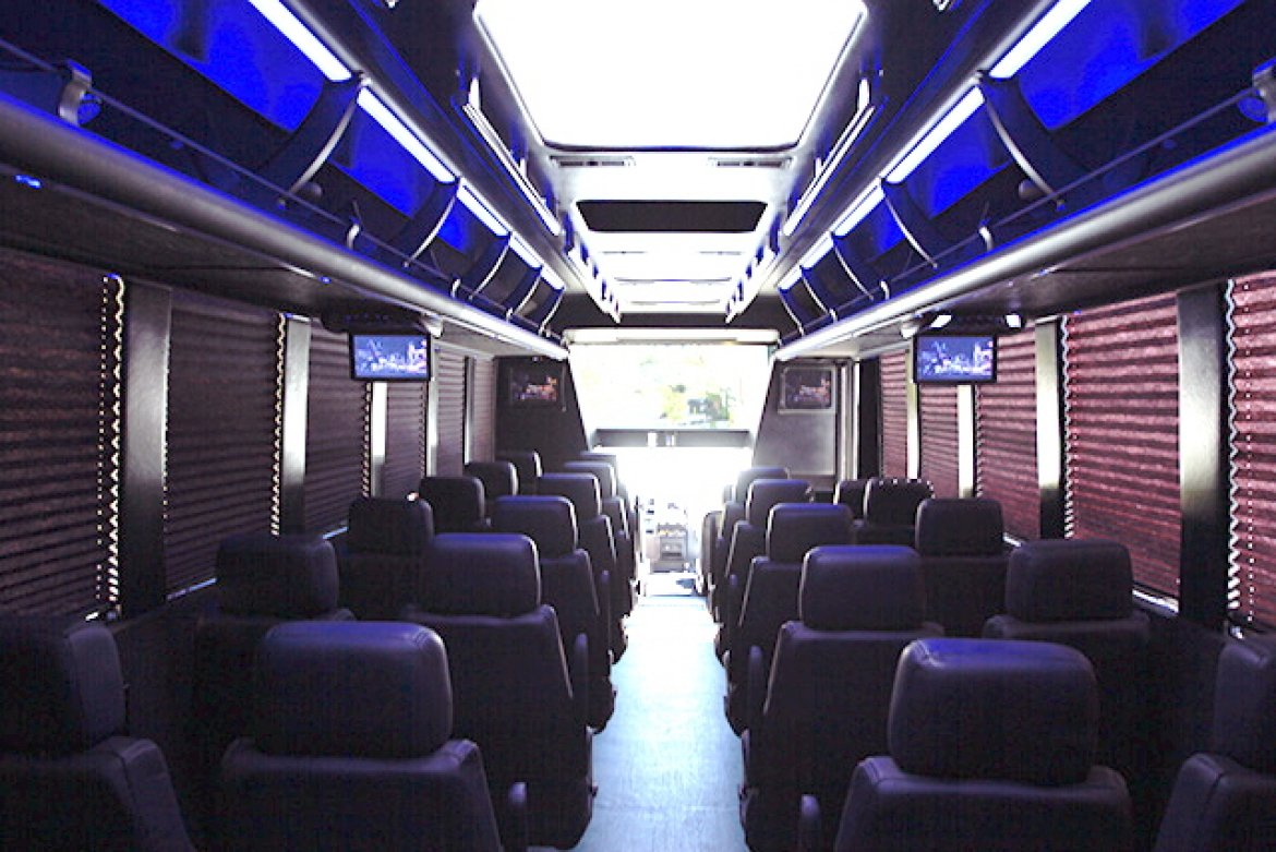 "Photo of Shuttle Bus for sale: 2017 Ford F-550X 37"" by Tiffany Coach"