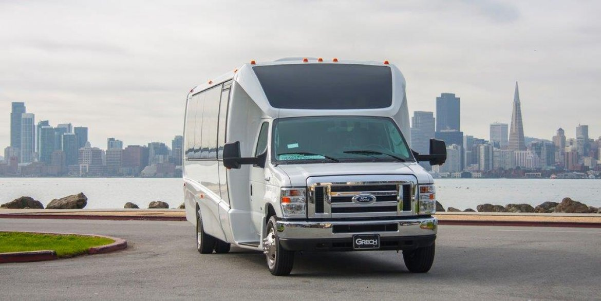 "Photo of Shuttle Bus for sale: 2017 Ford E-450 28"" by Grech Motors"
