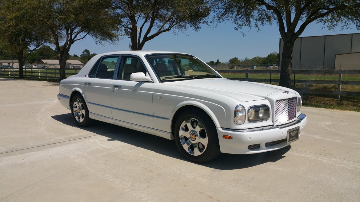Used 2002 bentley arnage for sale ws 11125 we sell limos for Bentley motors limited dream cars