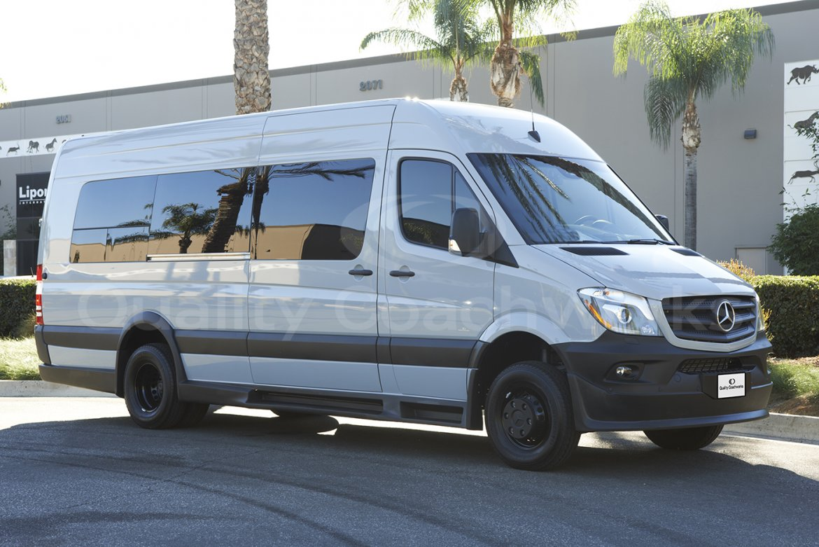 "Sprinter for sale: 2017 Mercedes-Benz Sprinter 170"" Extended 2500 4x4 170"" by Quality Coachworks"