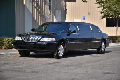For sale: 2007 Federal Lincoln Town Car Limousine