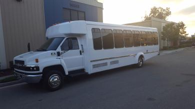 For sale: 2007 Chevrolet 5500 Limo Bus