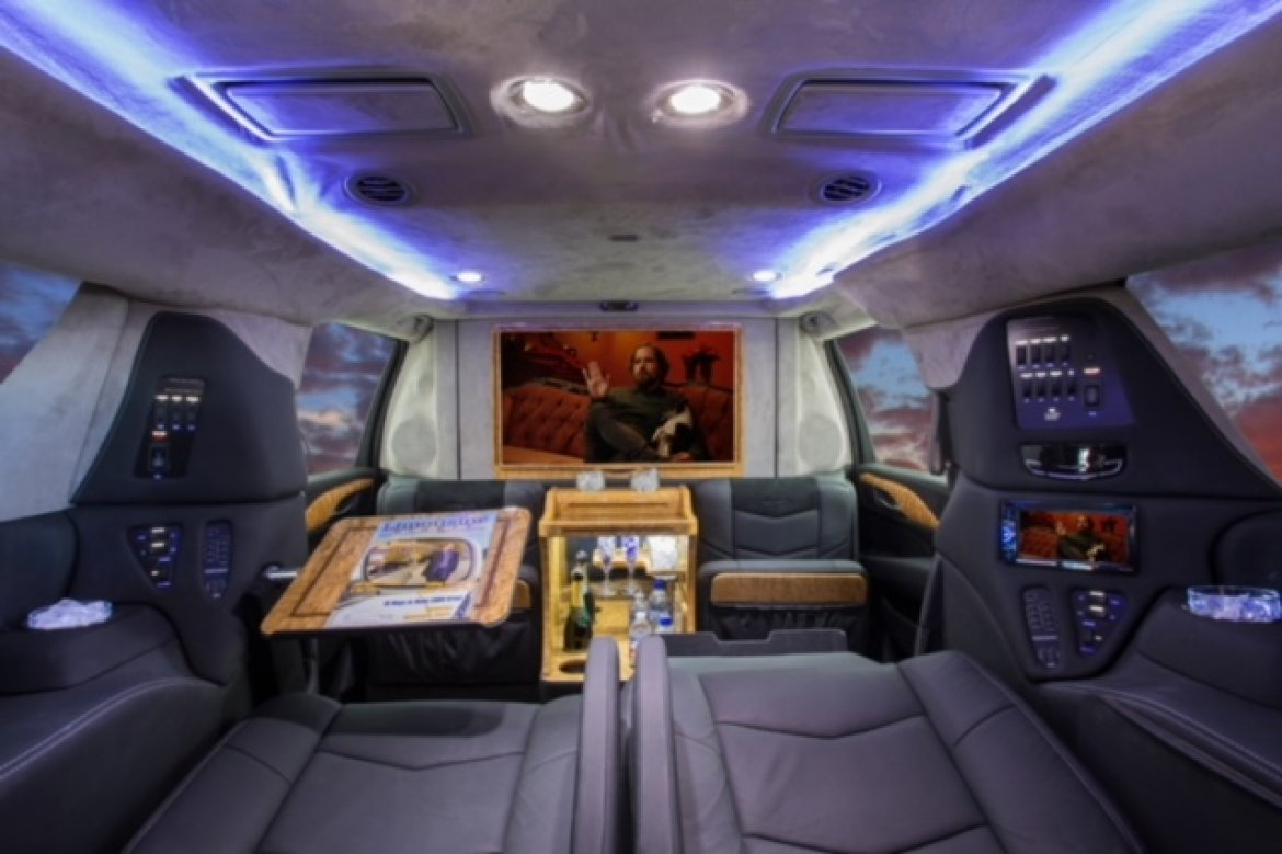 CEO SUV Mobile Office for sale: 2015 Cadillac Escalade ESV CEO Moble Office by LCW Automotive Corp