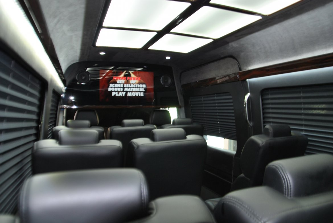 "Executive Shuttle for sale: 2014 Mercedes-Benz Sprinter 3500 170"" by First Class Customs"
