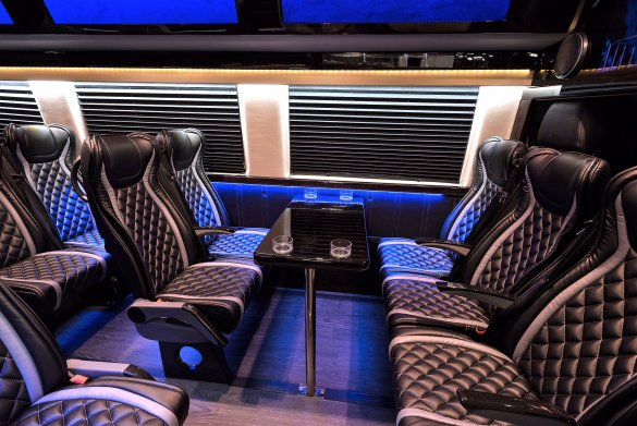 New 2017 mercedes benz 3500 for sale ws 11382 we sell limos for Mercedes benz stadium seats for sale