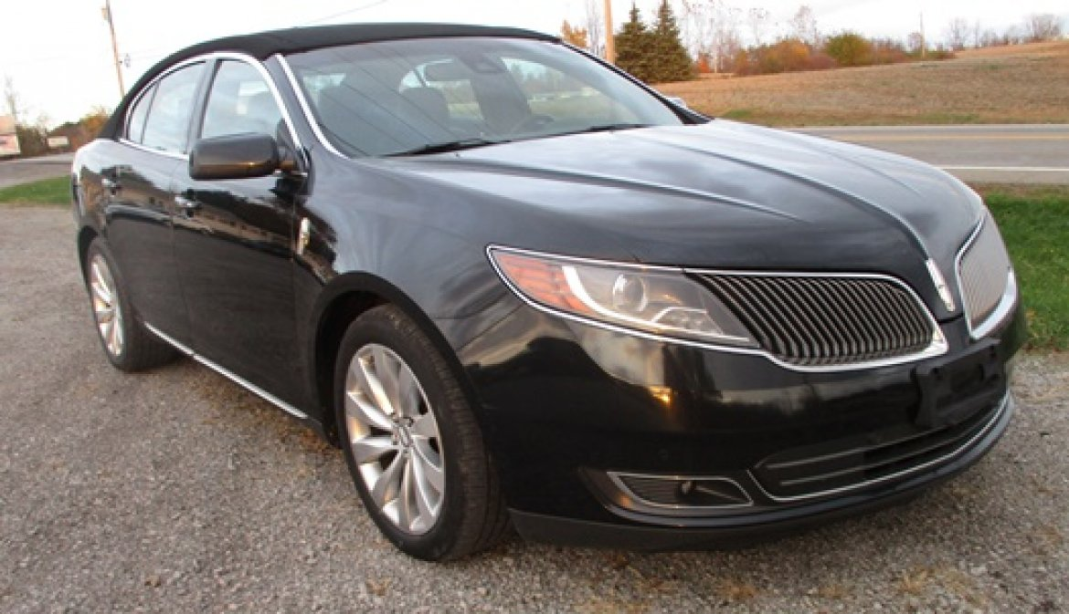 used 2014 lincoln mks for sale ws 10141 we sell limos. Black Bedroom Furniture Sets. Home Design Ideas