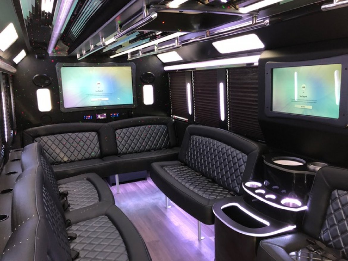 "Limo Bus for sale: 2018 Ford E-450 28"" by Tiffany Coach"