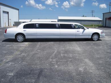 For sale: 2005 Executive Coach Builders Lincoln Town Car Limousine