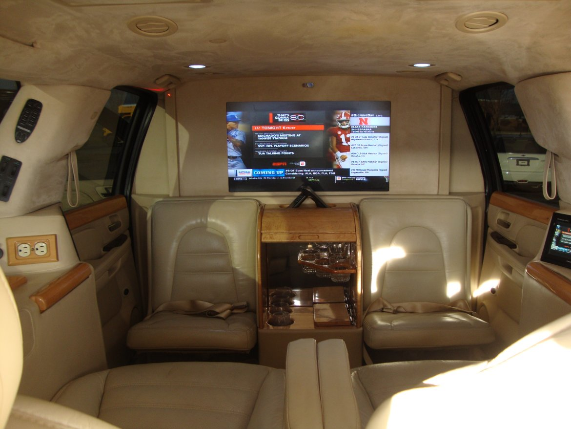 "CEO SUV Mobile Office for sale: 2007 Audi ESCALADE ESV CEO EDITION 222"" by LCW AUTOMOTIVE"