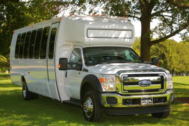 For sale: 2011 Krystal Ford F550 Limo Bus