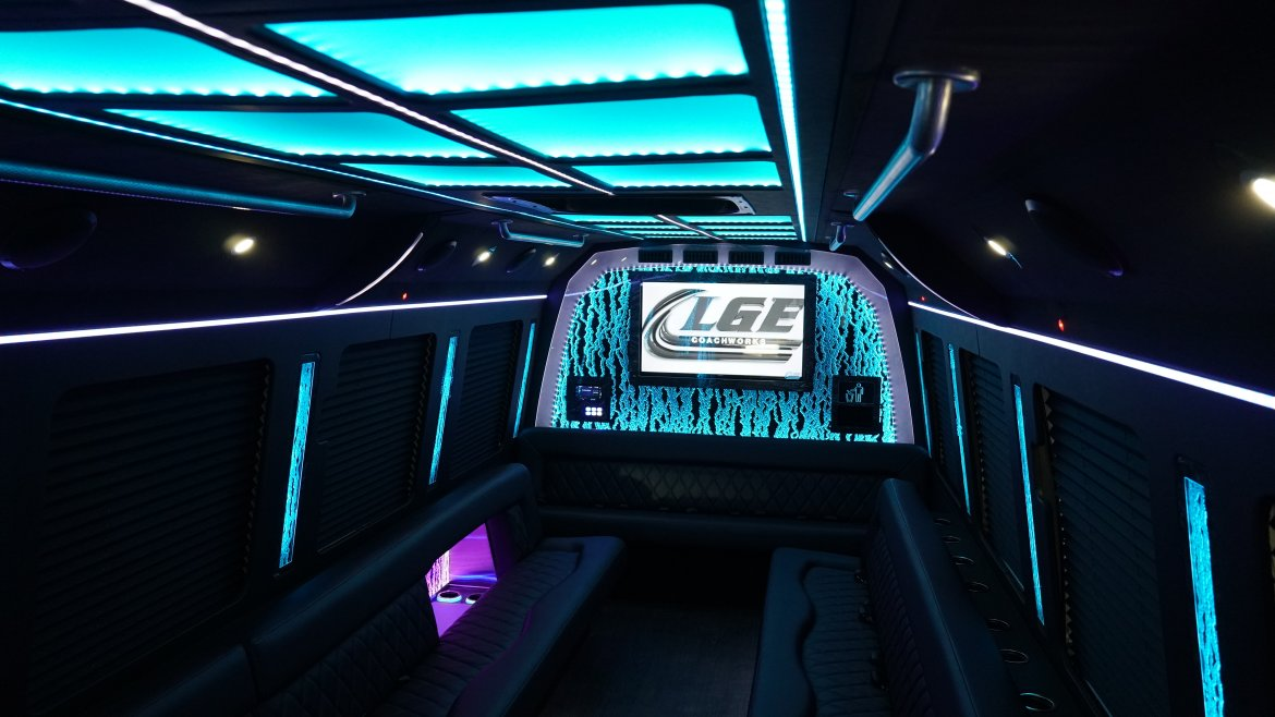 "Limo Bus for sale: 2019 Ford F-550 35"" by LGE Coachworks"