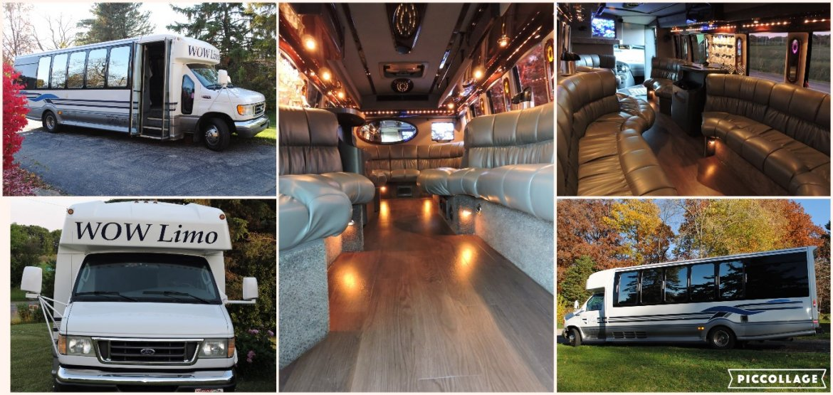 "Limo Bus for sale: 2003 Ford E450 29"" by Turtle Top"