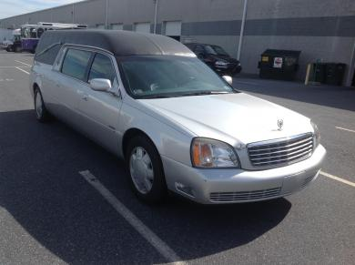 For sale: Cadillac Hearse (629)