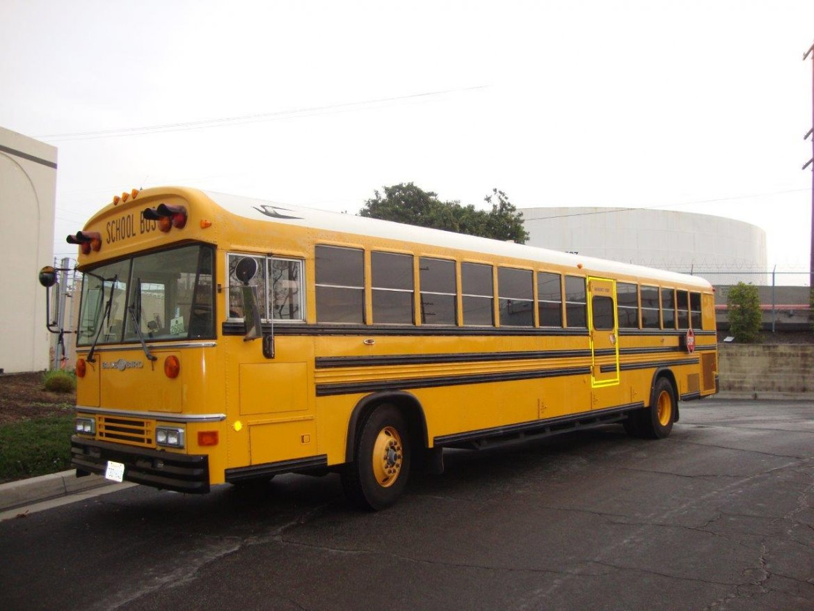Shuttle Bus for sale: 1993 Blue Bird All American /All Canadian School Bus