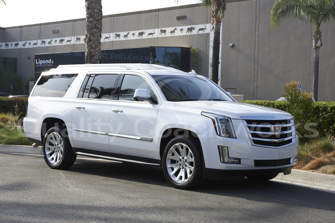 Suv For 2018 Cadillac Escalade Esv By Quality Coachwork