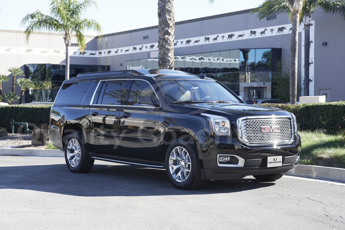 "CEO SUV Mobile Office for sale: 2019 GMC Yukon 224"" by Quality Coachwork"