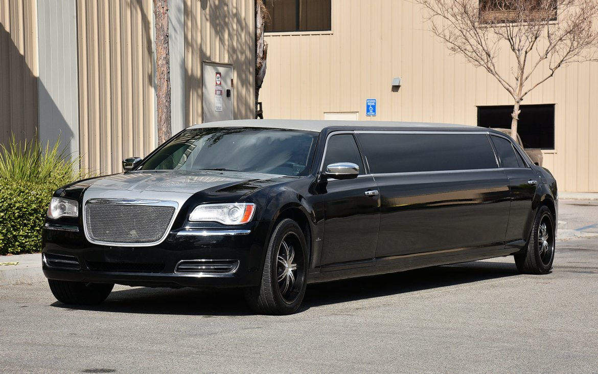"Limousine for sale: 2013 Chrysler 300 140"" by Quality Coachworks"