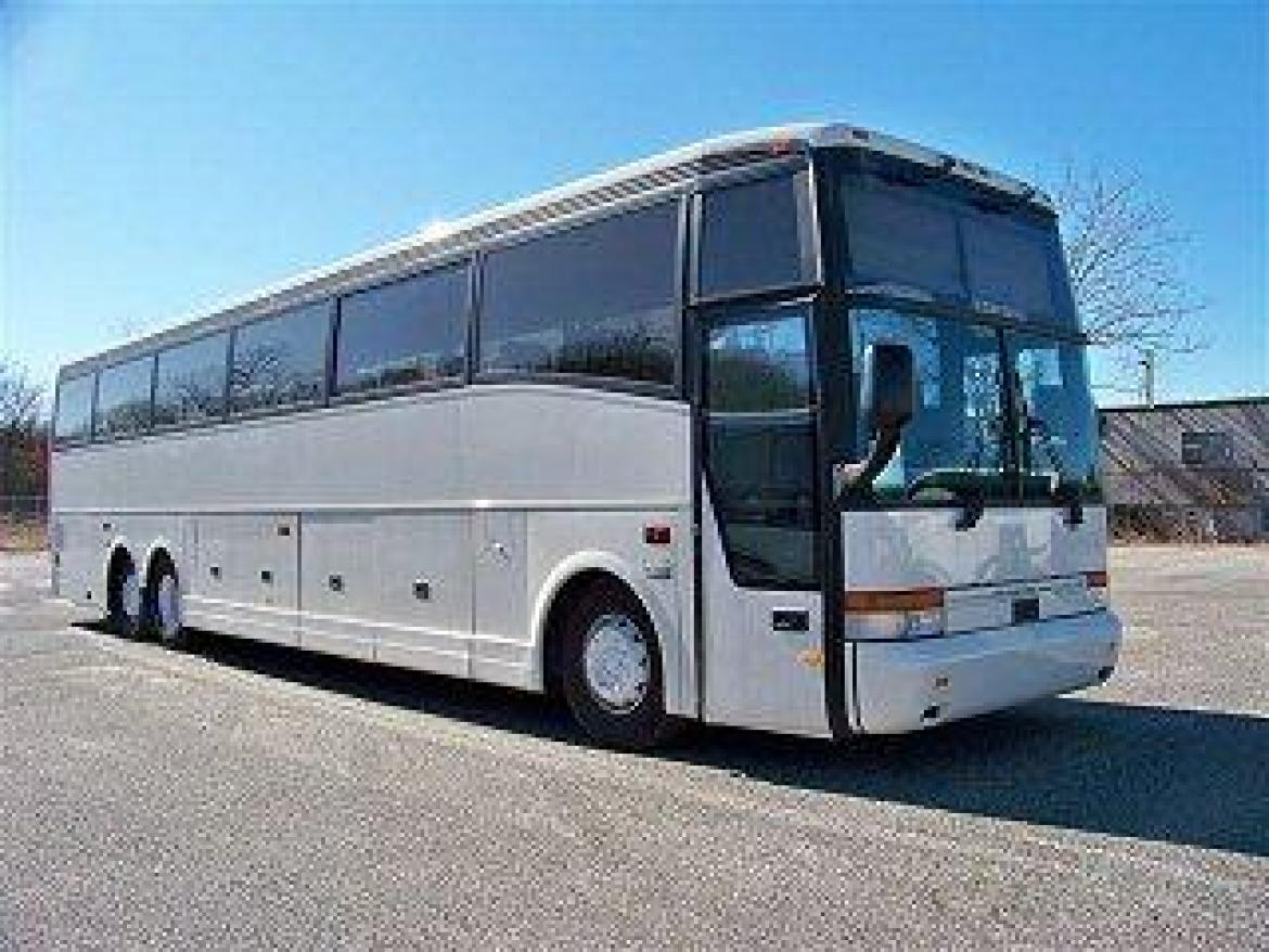 Photo Of Shuttle Bus For Sale 1998 Vanhool M11