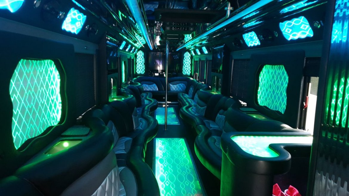 Limo Bus for sale: 2014 Freightliner Coach by CT Coachworks
