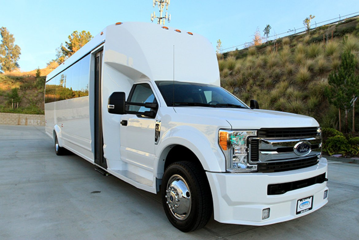 "Limo Bus for sale: 2018 Ford 550 37"" by Tiffany"
