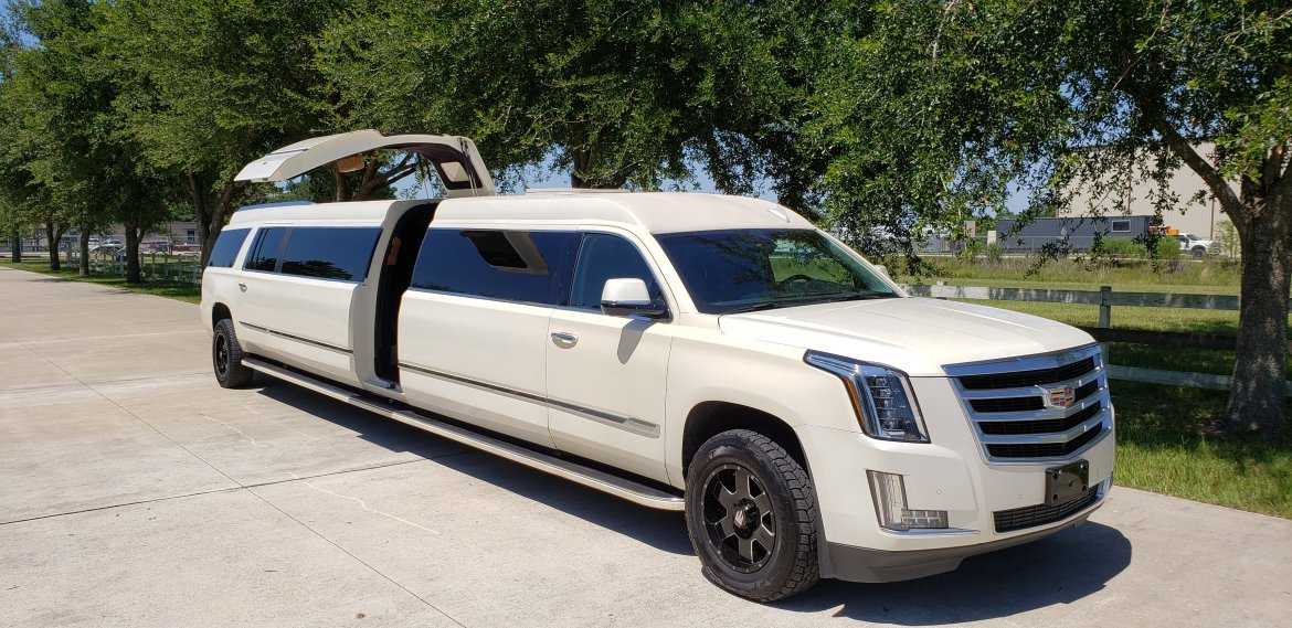 "SUV Stretch for sale: 2015 Cadillac Escalade ESV 200"" by Limos By Moonlight"
