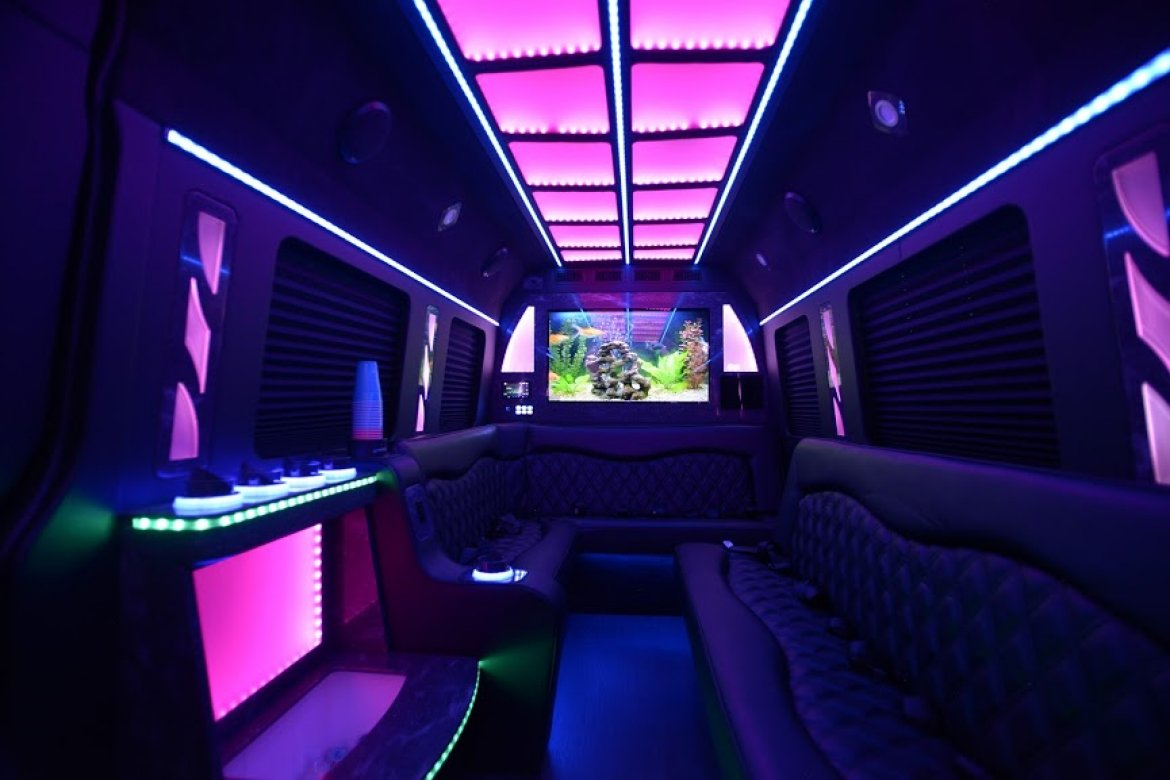 "Limo Bus for sale: 2018 Mercedes-Benz Sprinter 170"" by LGE"