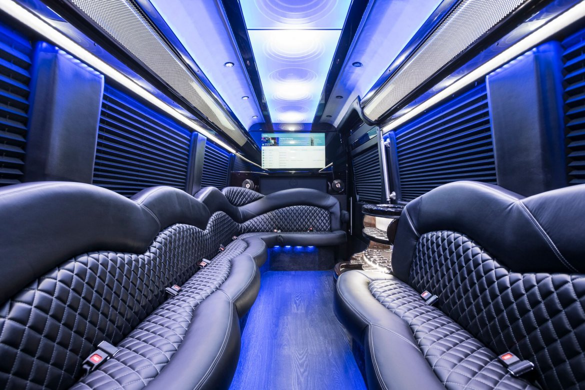 "Limousine for sale: 2019 Mercedes-Benz 3500 Extended High Top 26"" by Executive Coach Builders,Inc."