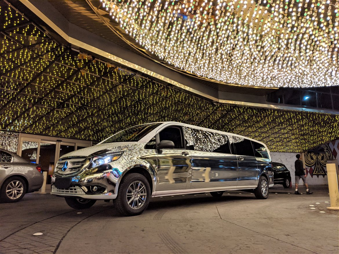 "Limousine for sale: 2019 Mercedes-Benz V-Class 80"" by Springfield Coach"