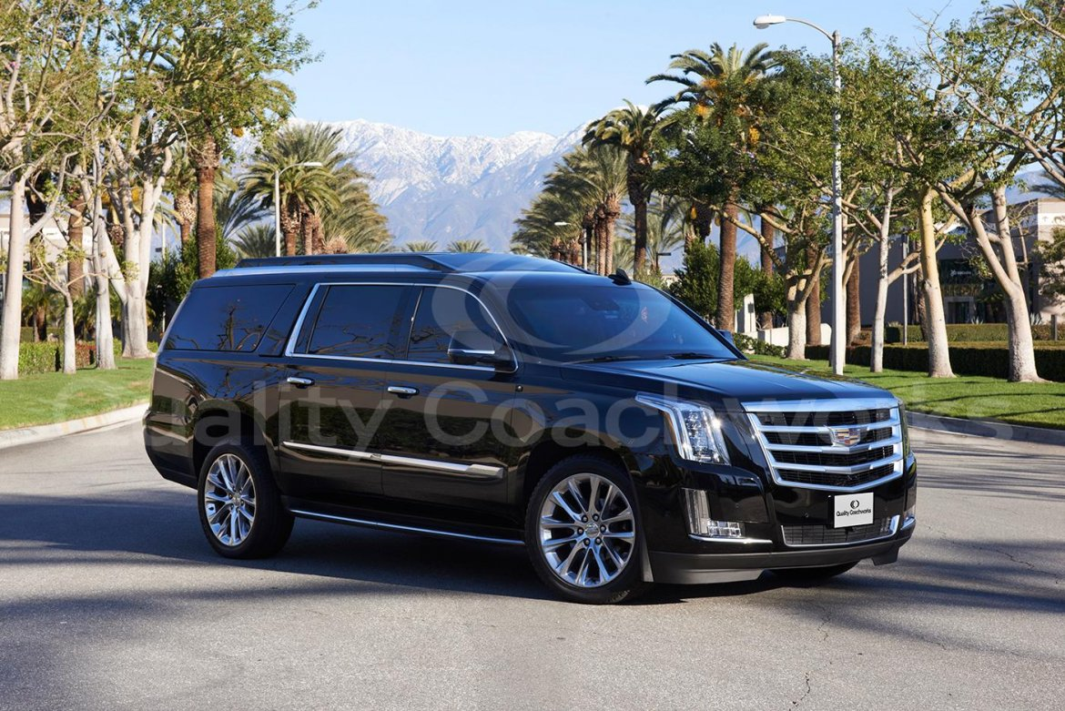 CEO SUV Mobile Office for sale: 2018 Cadillac Escalade by Quality Coachworks