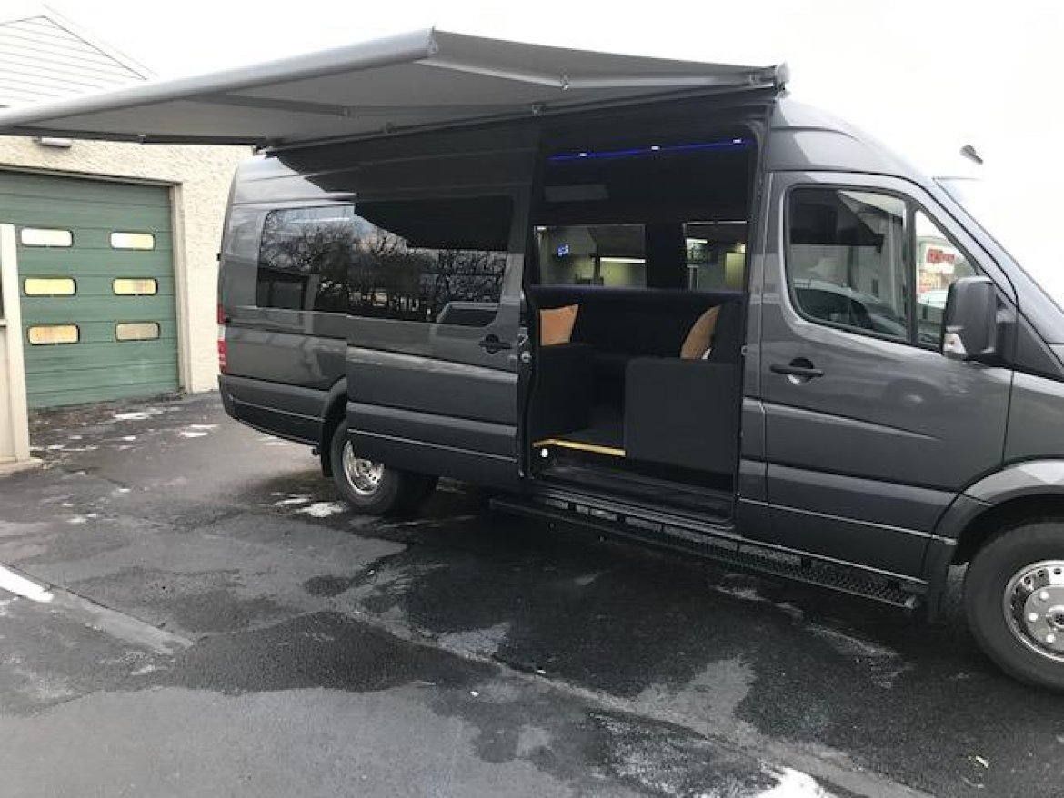 "Sprinter for sale: 2017 Mercedes-Benz Sprinter, 170"" Extended 25"" by Corporate Coach"