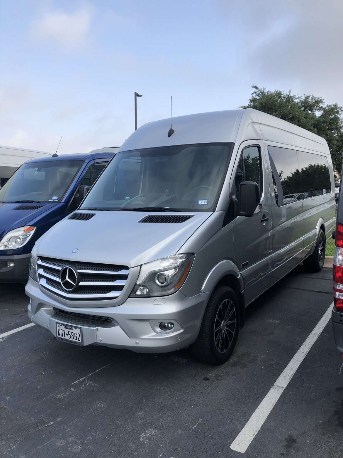 Sprinter for sale: 2016 Mercedes-Benz 3500 by McSweeny