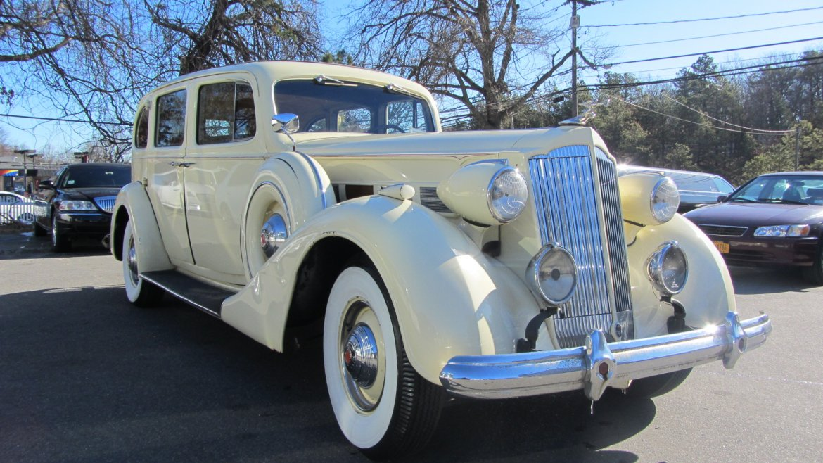 Antique for sale: 1937 Packard Super 8 Limousine by Packard