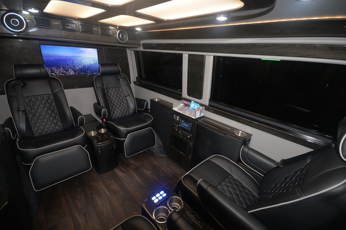 "Executive Shuttle for sale: 2018 Mercedes-Benz Sprinter 144"" by Midwest Automotive Designs"