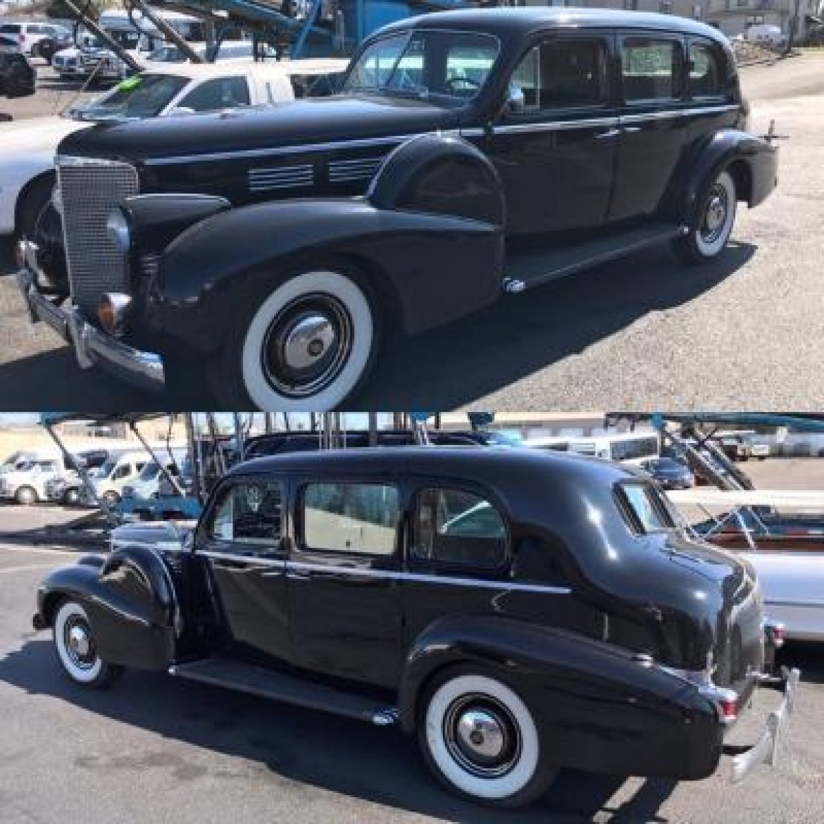 Used 1938 Cadillac Formal Limo For Sale #WS-13271