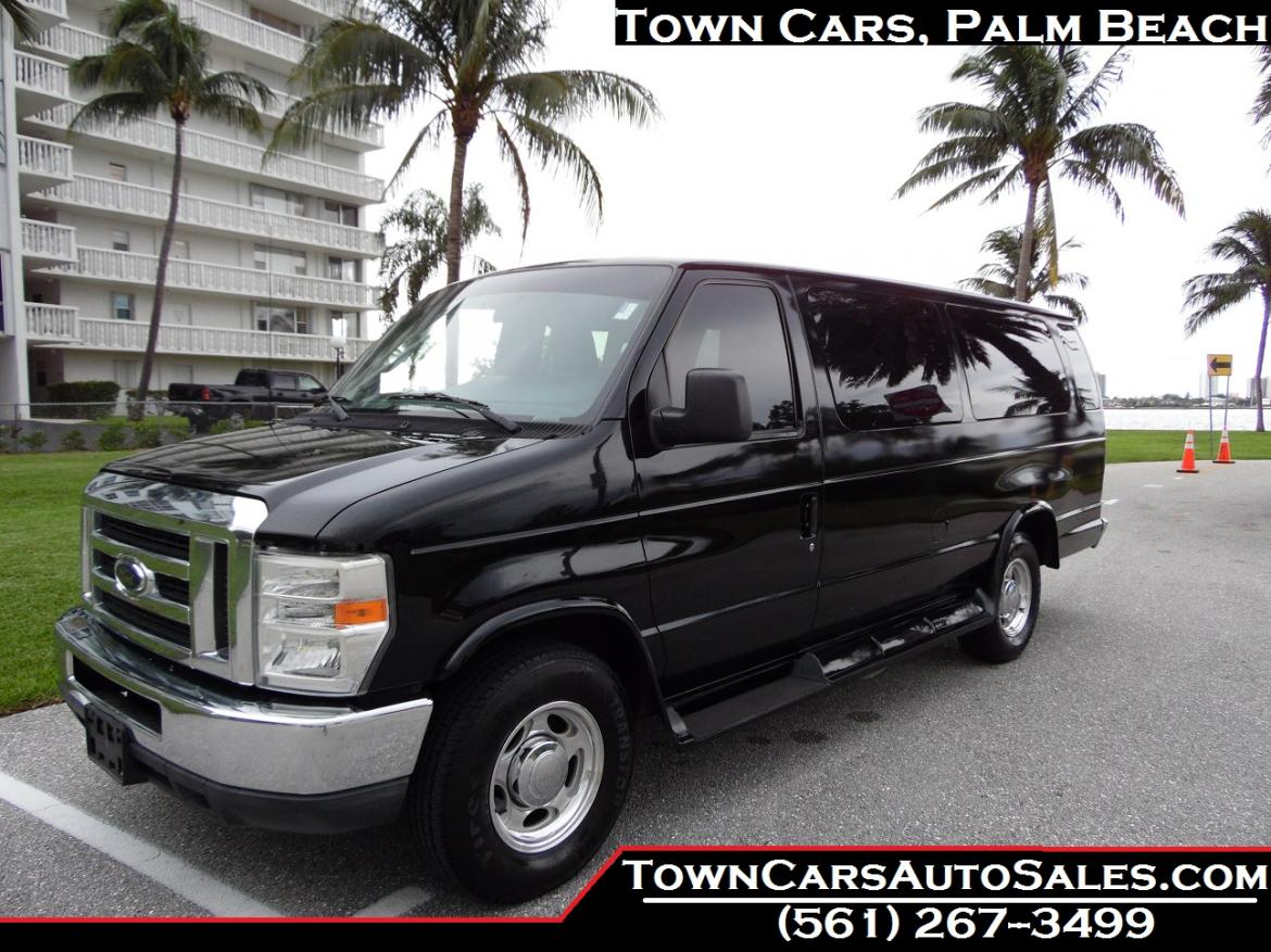 2012 E350 Shuttle Van Extended Limo Style Conversion Passenger For Sale