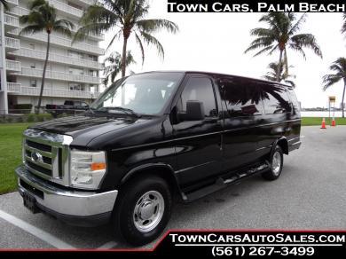 For sale: 2012 E350 Shuttle Van Extended Limo-Style Conversion Passenger Van