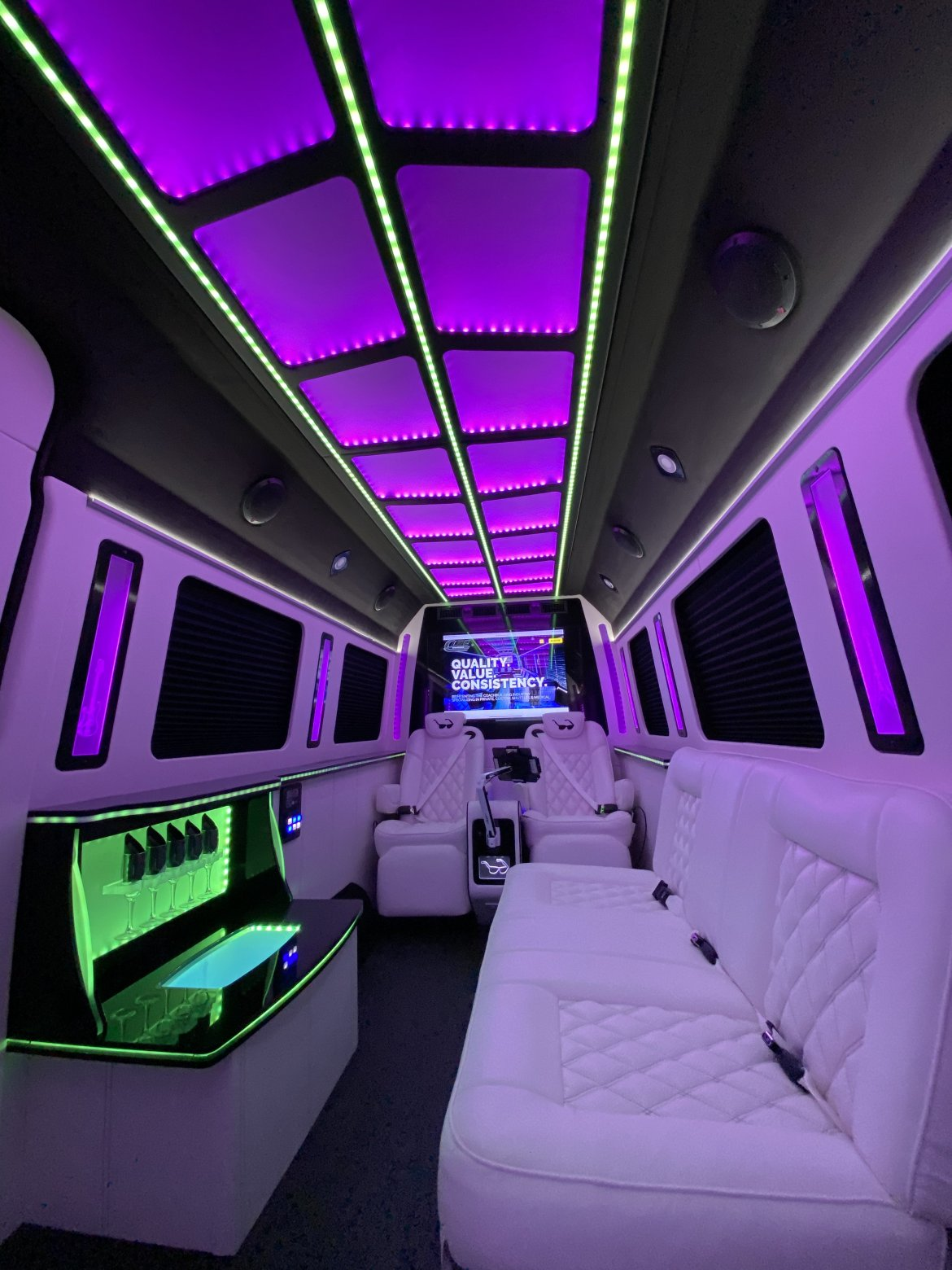 CEO SUV Mobile Office for sale: 2020 Mercedes-Benz Sprinter by LGE Coachworks