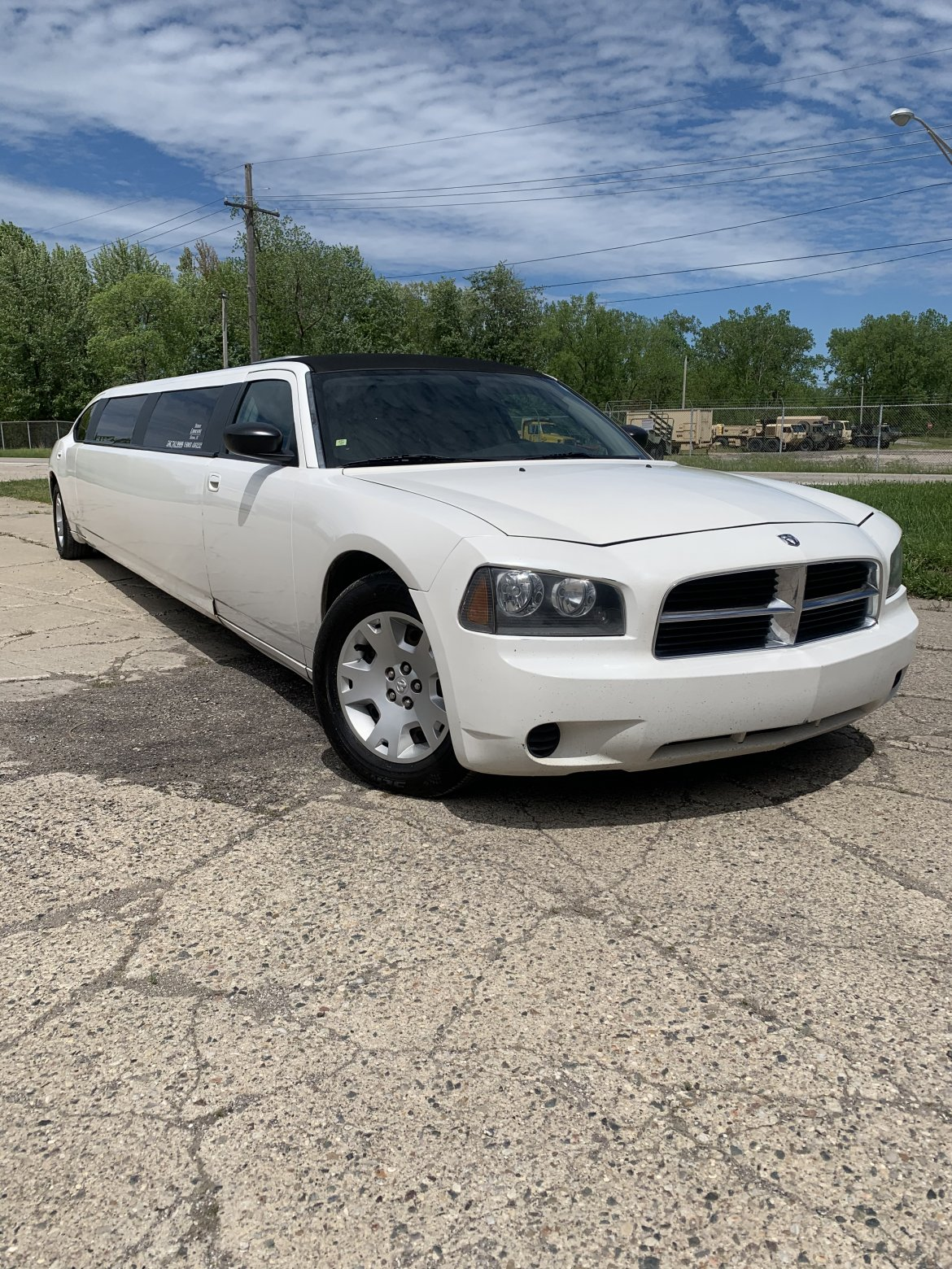 Limousine for sale: 2006 Dodge Charger 140""