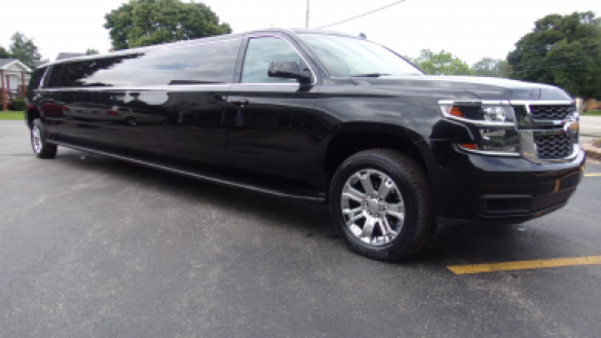 used 2015 chevrolet tahoe for sale ws 10359 we sell limos. Black Bedroom Furniture Sets. Home Design Ideas