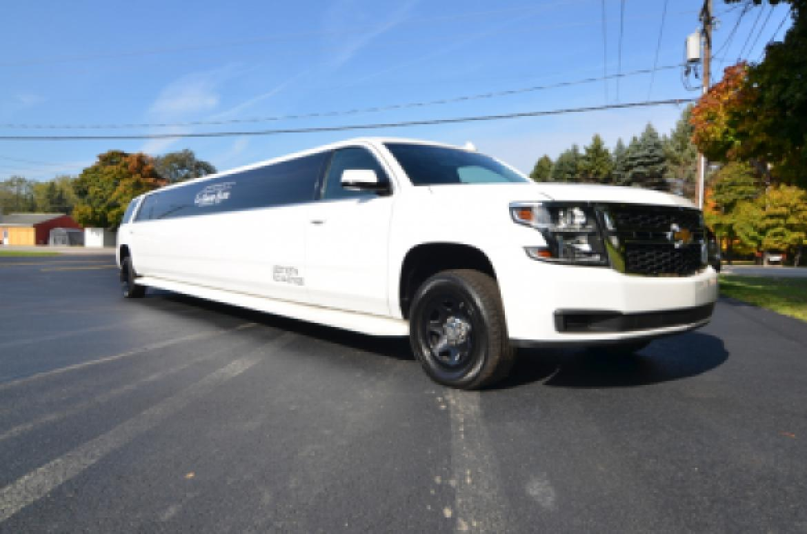 used 2015 chevrolet tahoe for sale ws 10361 we sell limos. Black Bedroom Furniture Sets. Home Design Ideas