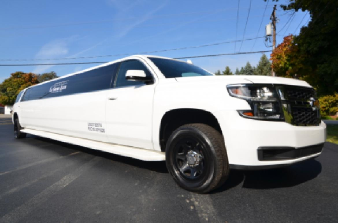 suv stretch for sale 2015 chevy tahoe in north east pa 10361 we. Black Bedroom Furniture Sets. Home Design Ideas
