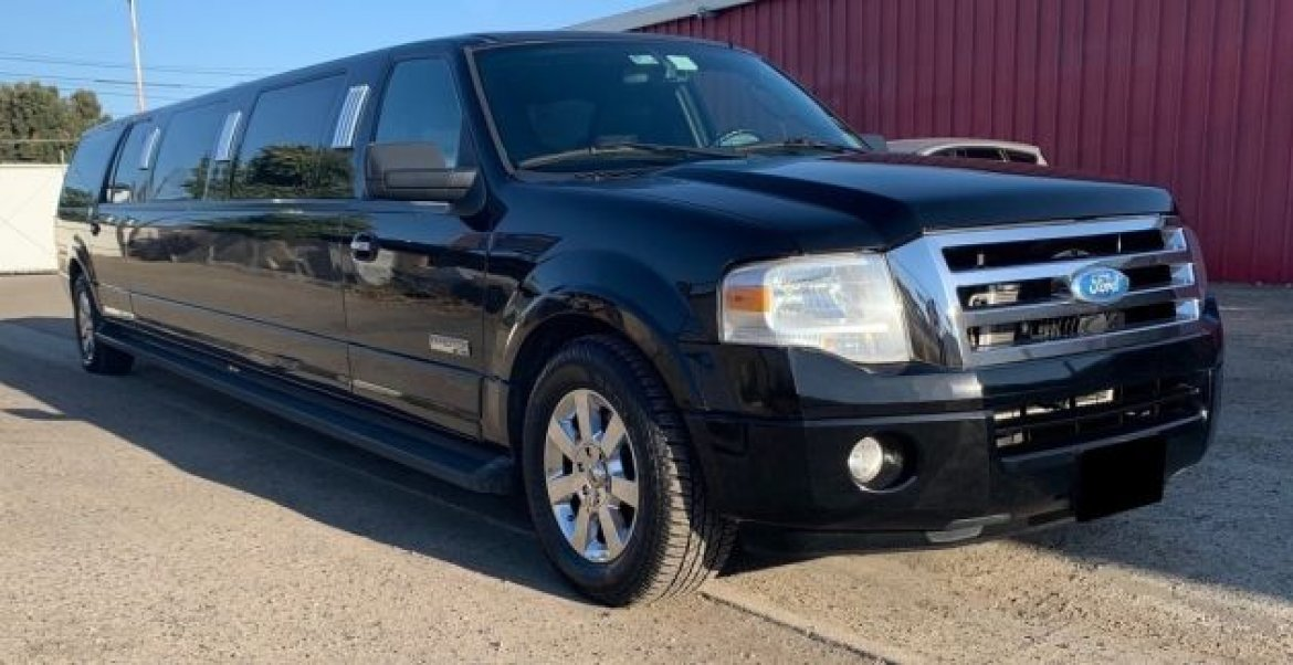 "SUV Stretch for sale: 2008 Ford Expedition DaBryan EL XLT 5.4L V8 14-Passenger 140"" by Dabryan"