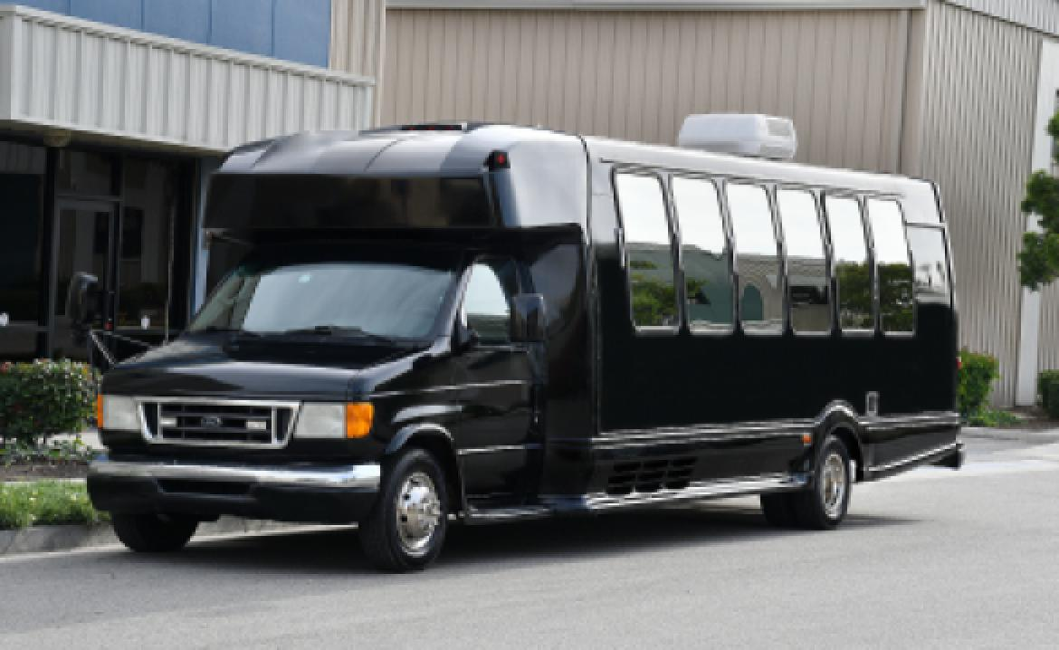 Photo of Limo Bus for sale: 2003 Ford E-450 by Turtle Top