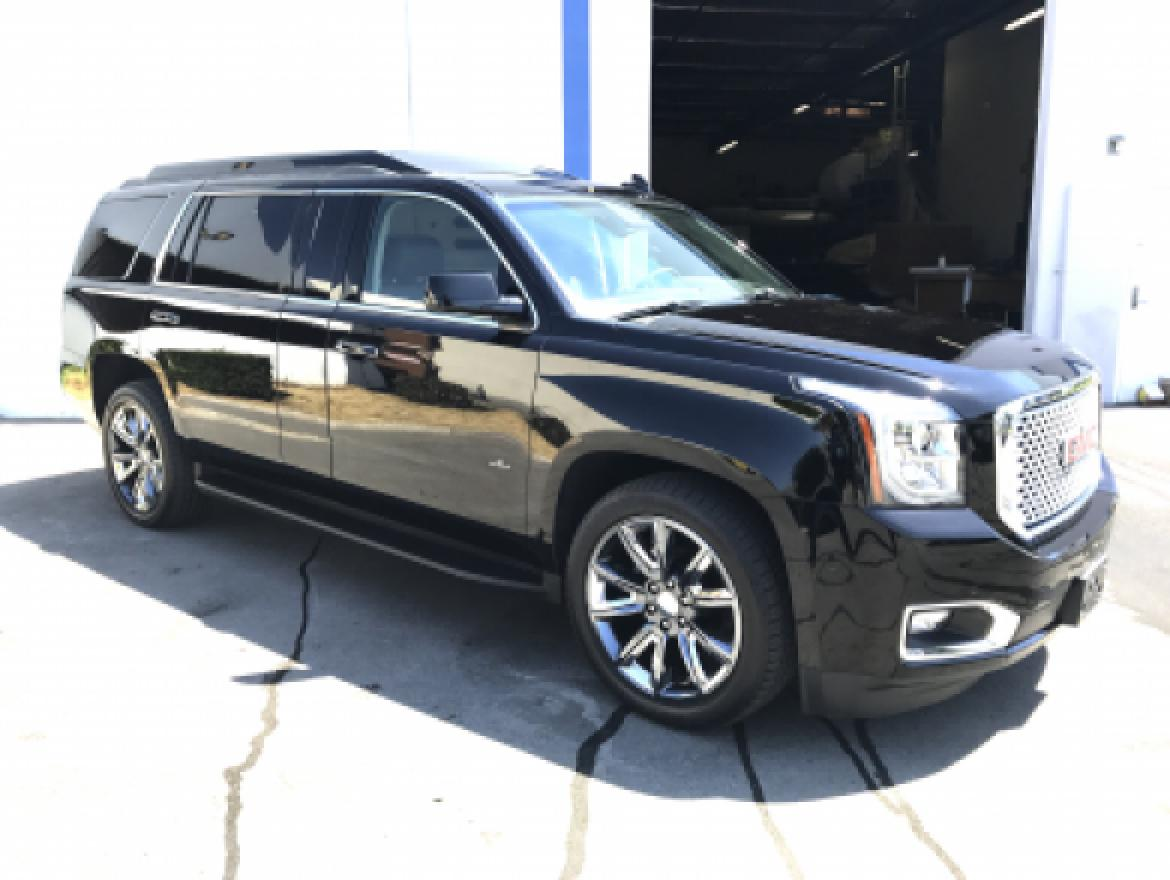 used 2016 gmc denali for sale ws 10383 we sell limos. Black Bedroom Furniture Sets. Home Design Ideas