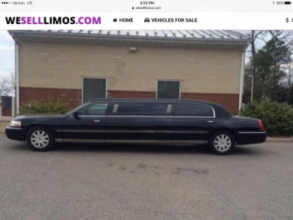 Richmond Ford Lincoln Richmond Va >> Used 2006 Lincoln Town Car Limousine for sale #WS-10390 ...