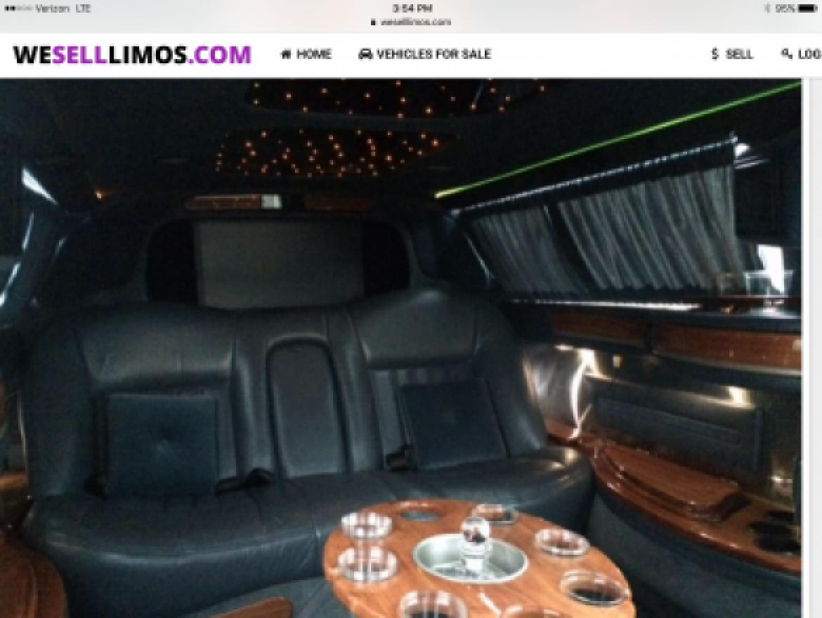 "Photo of Limousine for sale: 2006 Lincoln Town Car Limousine 72"" by Krystal"