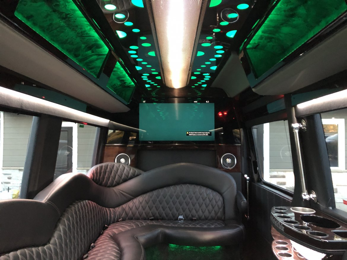 "Sprinter for sale: 2017 Mercedes-Benz Limo 170"" by Executive Coach Builders"
