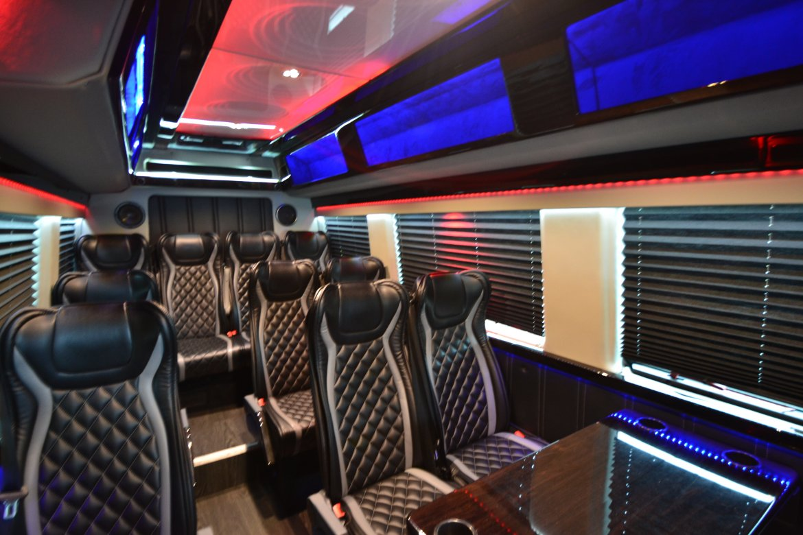 "Sprinter for sale: 2016 Mercedes-Benz 14 Passenger Shuttle 170"" by Executive Coach Builders"