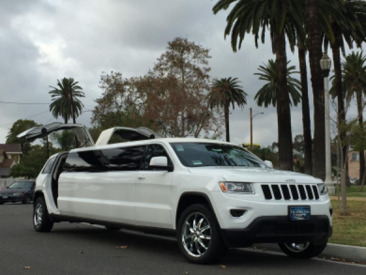 Limousine For Sale: 2015 Jeep Grand Cherokee By American Limousine Sales