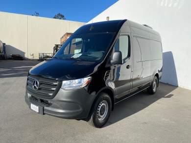 2019 Quality Coachworks Mercedes-Benz Sprinter 144 Mobile Office CEO